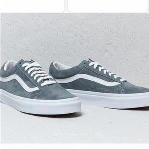 dfa5c182a4 Vans Shoes - Vans old skool pig suede stormy weather 11